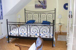 Ein Schlafzimmer im 2. Obergeschoss