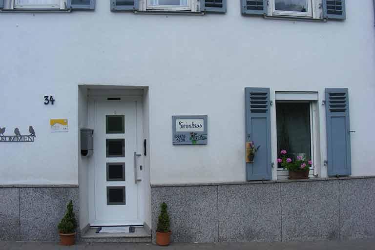 Ferienhaus Loch Hanne & Manfred Außen