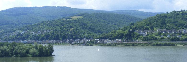 Rheinblick in Lorch